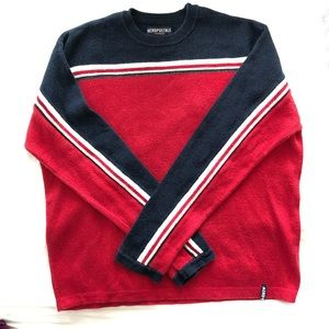 Vintage Aeropostale color block sweater. Large